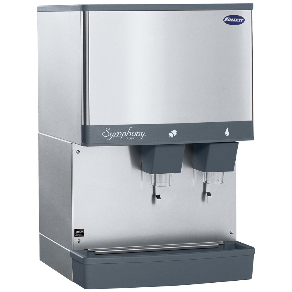 ... Countertop Water Cooled Ice Maker and Water Dispenser - 25 lb