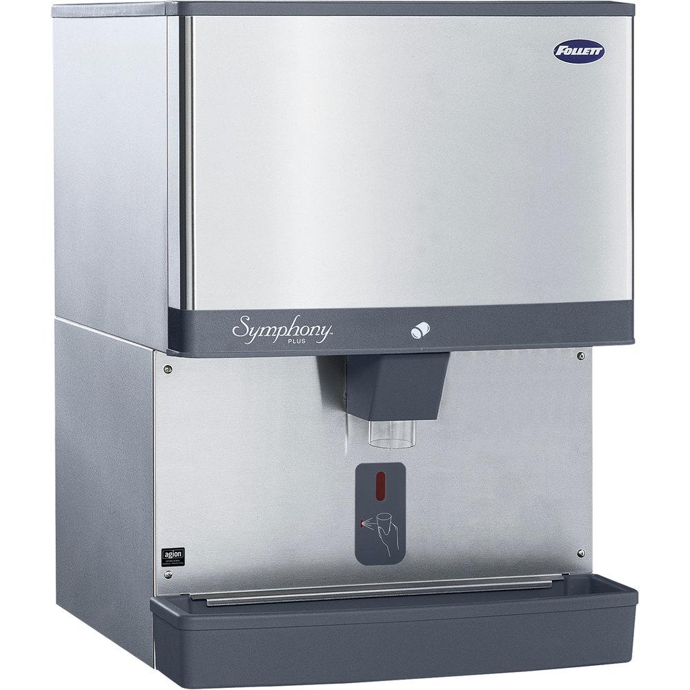 Commercial Countertop Ice Maker Dispenser : Ice Dispensers