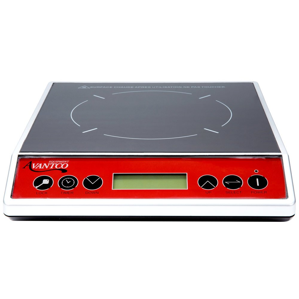 579717 avantco icbtm 20 countertop induction range cooker 120v, 1800w  at fashall.co
