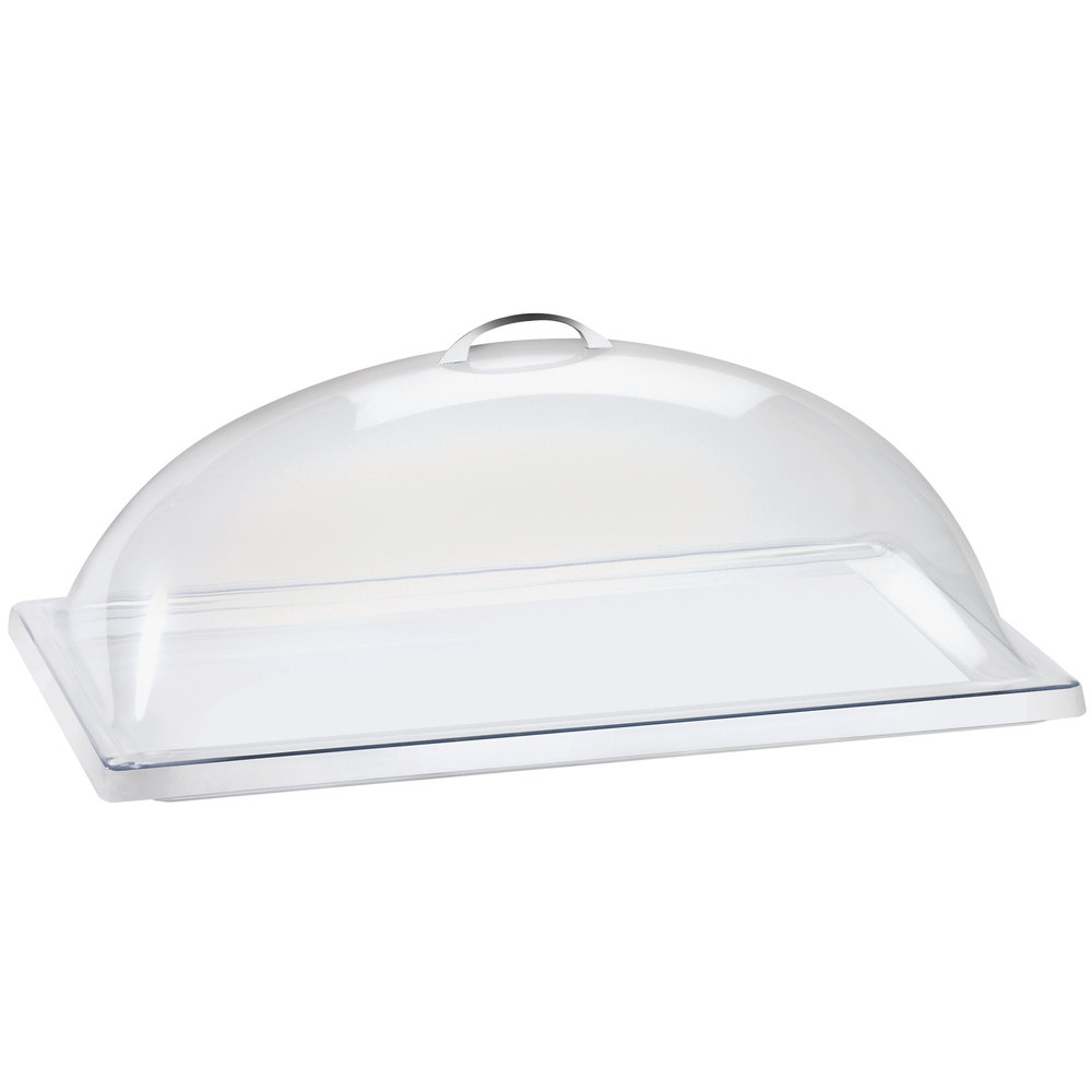 "Cal-Mil 321-12 Classic Clear Dome Display Cover - 12"" x 20"" x 7 1/2"""