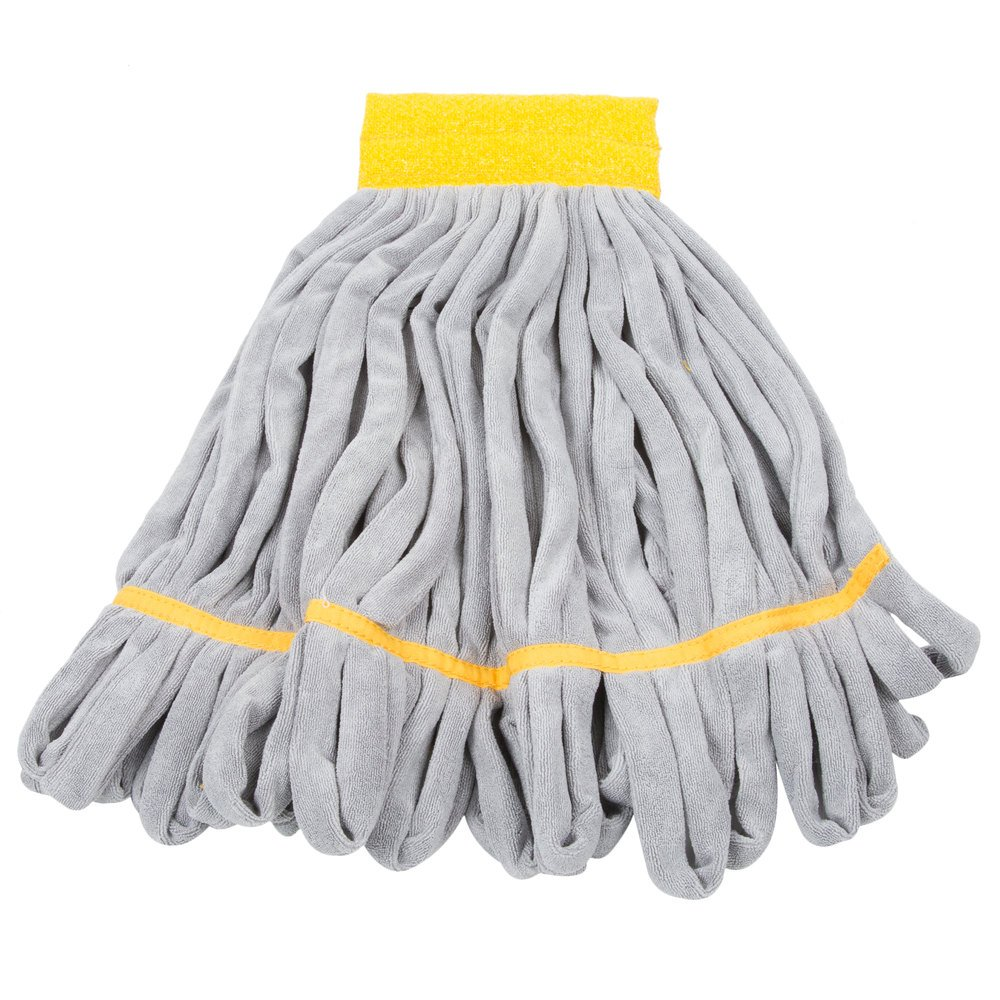 Unger St45y Smartcolor Roughmop 16 Oz Yellow Heavy Duty