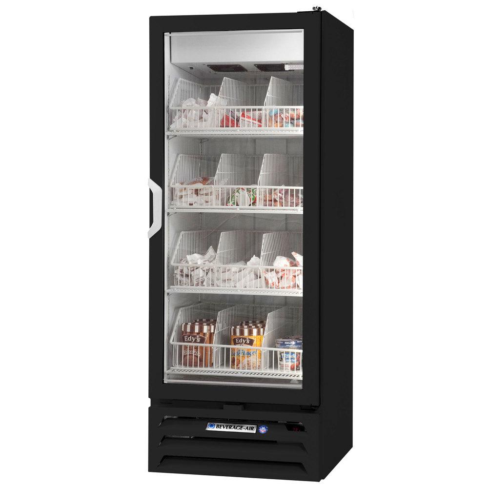 Beverage Air Mmf12 1 B Led 24 Quot Black Marketmax Glass Door