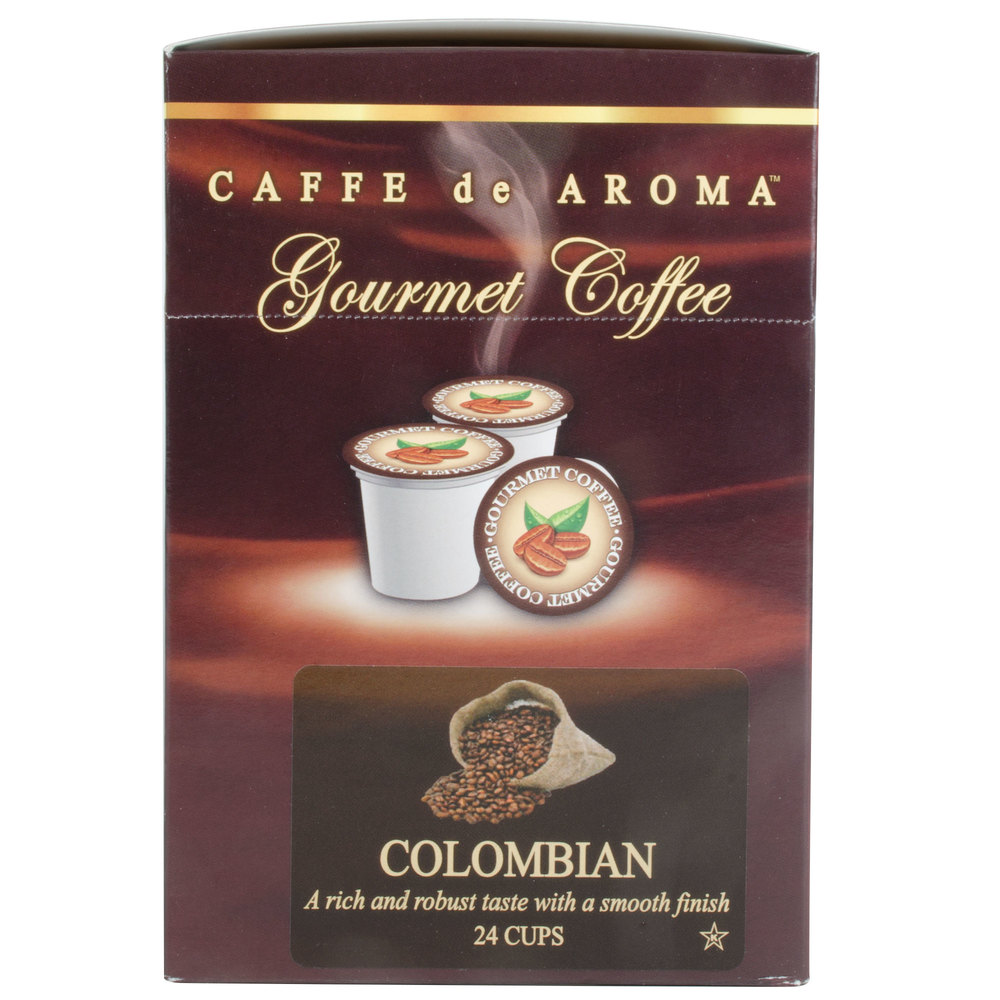 Caffe de Aroma Colombian Supreme Coffee Single Serve Cups ...