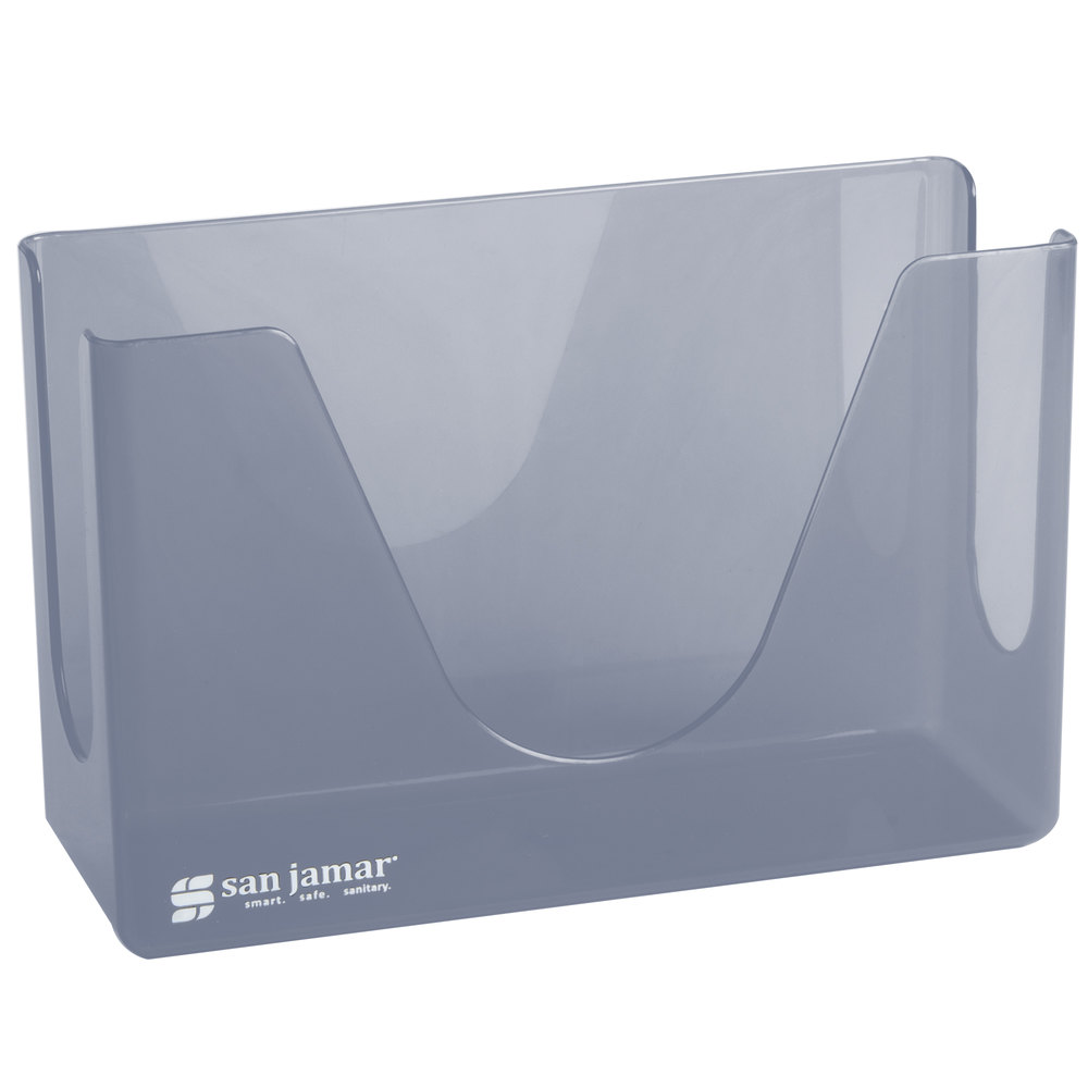 Countertop Paper Towel Dispenser : San Jamar T1720TBL Countertop Towel Dispenser - Arctic Blue