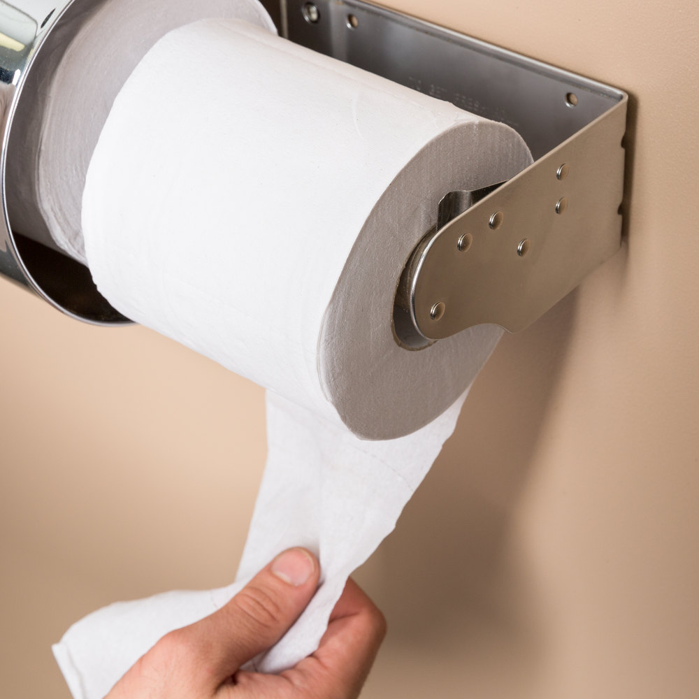 Lavex Janitorial Individually-Wrapped 1-Ply Standard 1000 Sheet ...