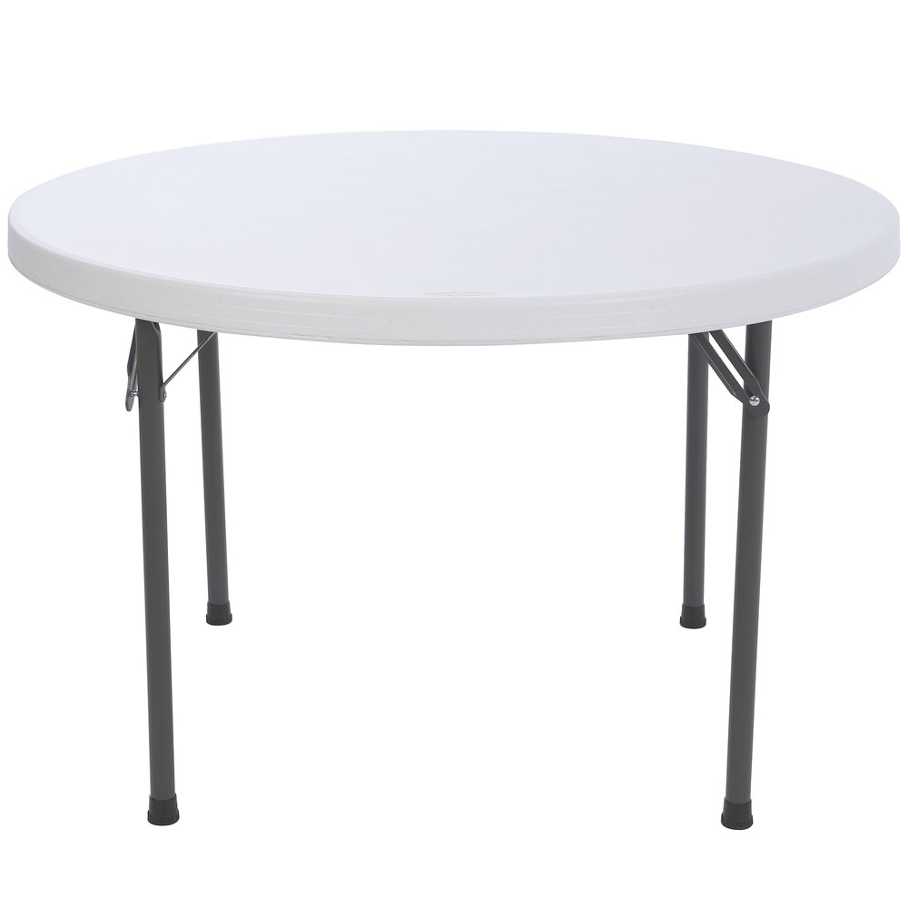 Plastic Folding Table : Lifetime 42960 46