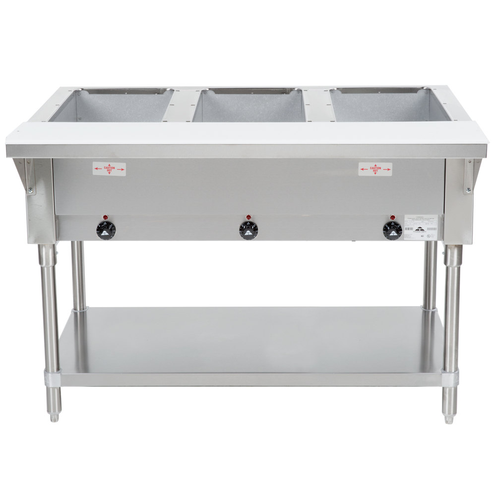 Advance tabco hf 3e 120 three pan electric steam table with main picture keyboard keysfo Image collections