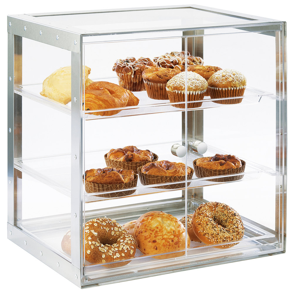 Cal Mil 3413 55 Urban 3 Tier Stainless Steel Bakery