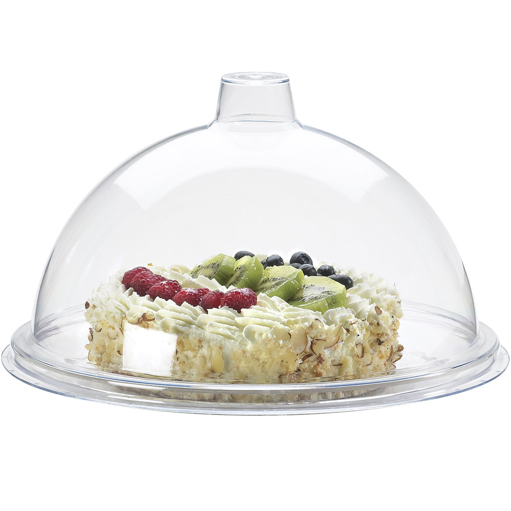 "Cal-Mil 311-9 Gourmet 9"" Sample / Pastry Tray Cover"