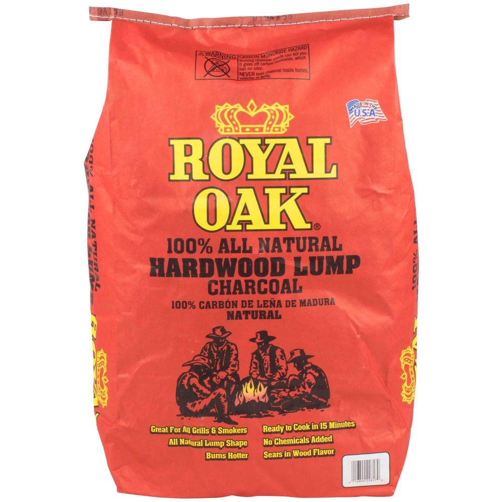 Charcoal Briquettes Wood ~ Royal oak natural wood lump charcoal lb