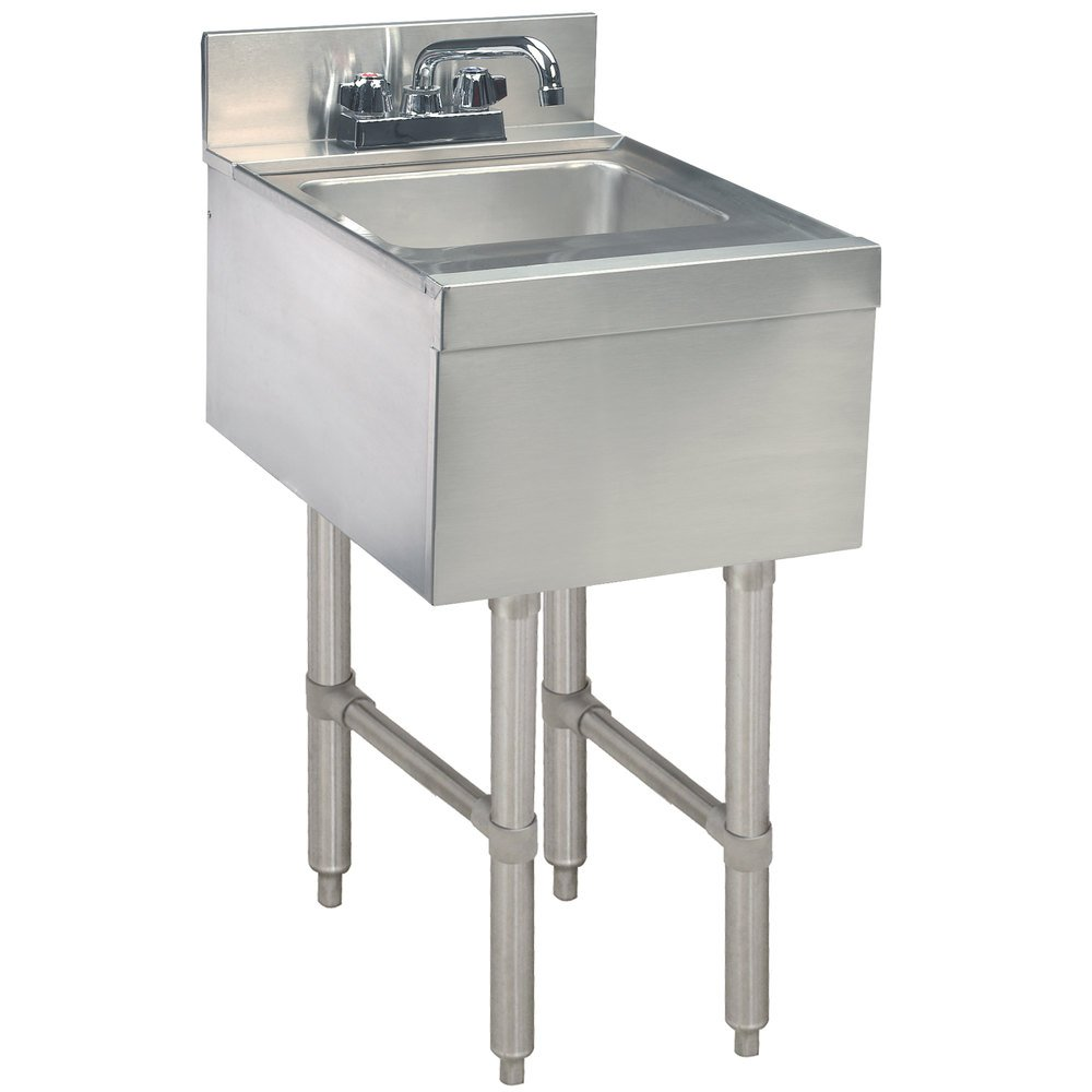 Advance Tabco Cr Hs 15 Stainless Steel Underbar Hand Sink