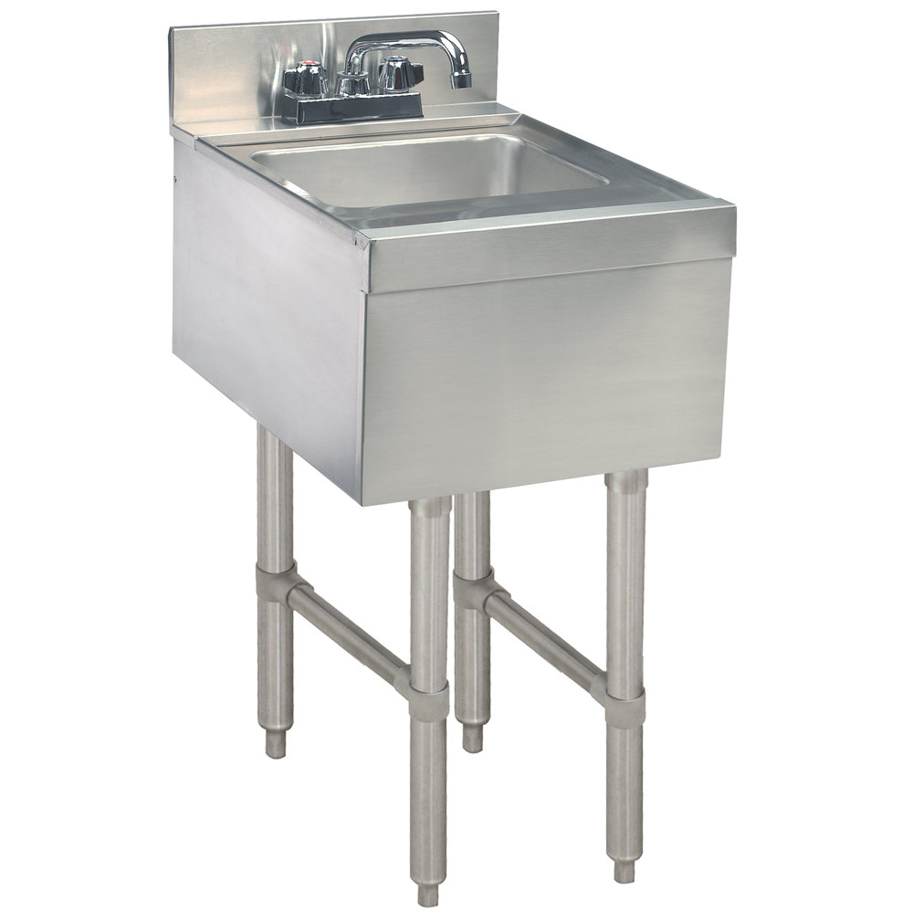 Advance Tabco CR-HS-12 Stainless Steel Underbar Hand Sink with Deck ...