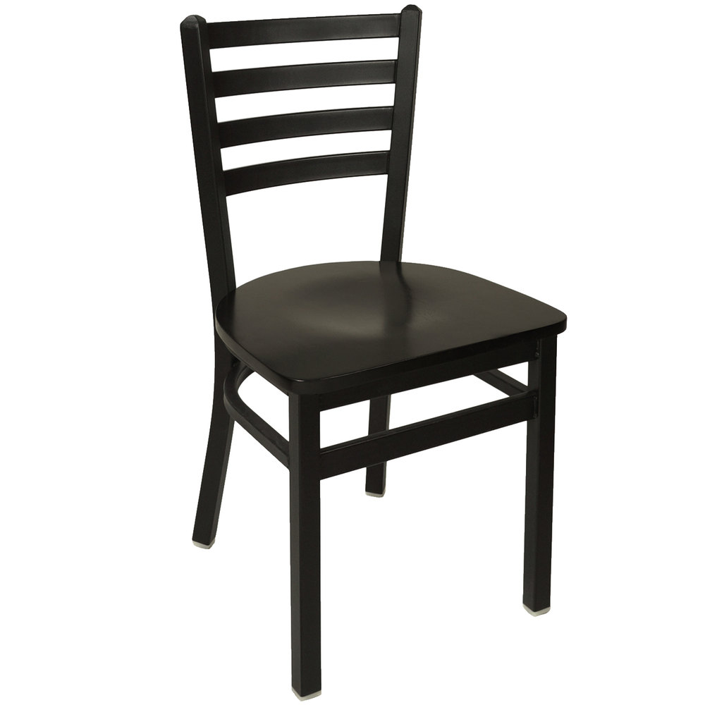 Chair With Black Wooden Seat Main Picture