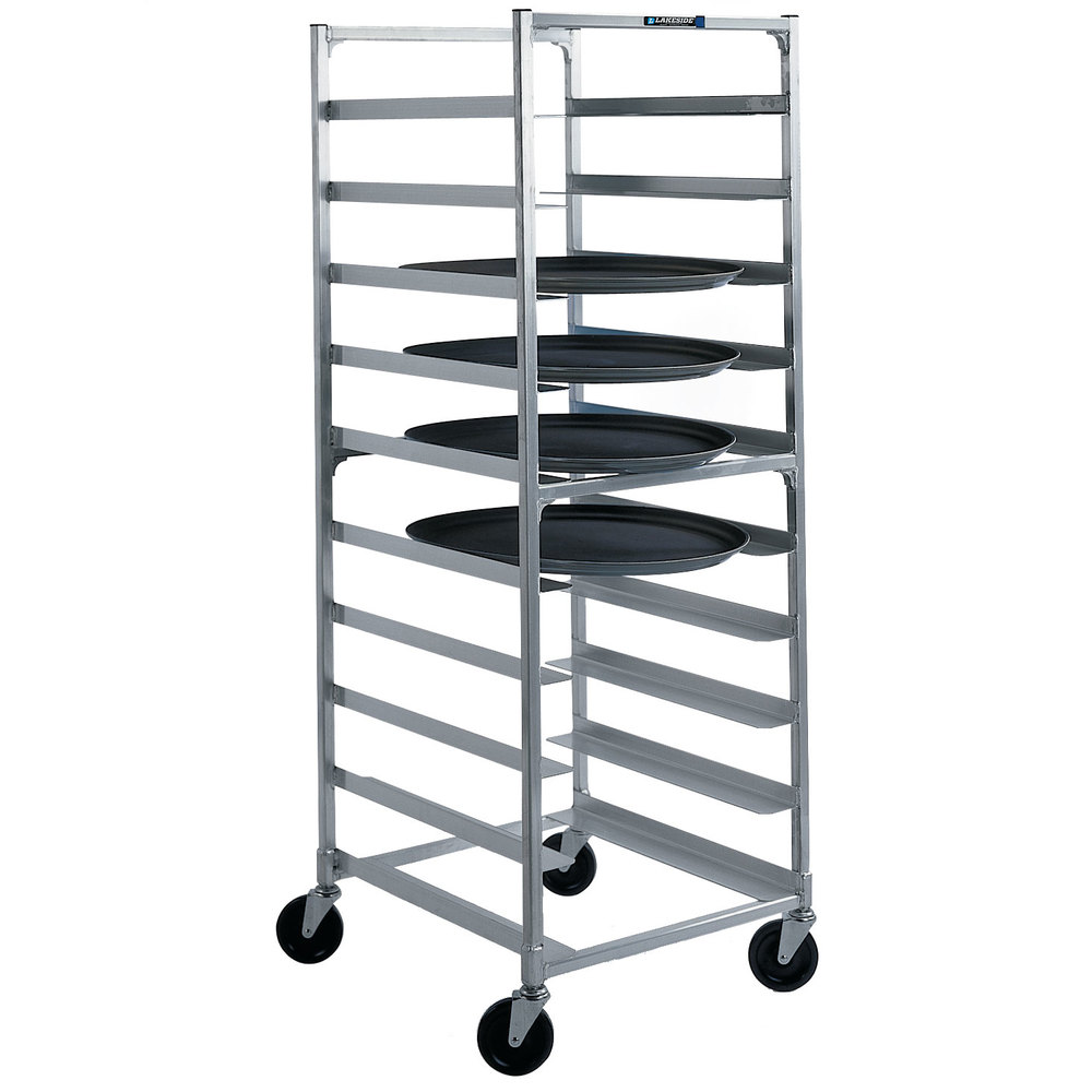 Lakeside 8582 Aluminum Oval Tray Cart For 23 1 2 Quot X 29