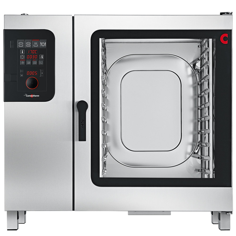 Convotherm C4ED10.20EB Full Size Electric Combi Oven with easyDial Controls - 208V, 3 Phase, 33.4 kW