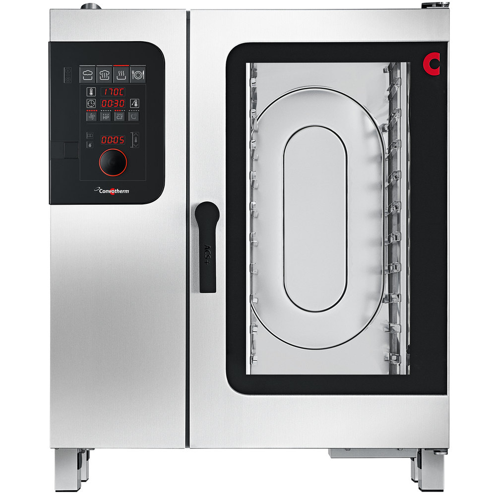 Convotherm C4ED10.10EB Half Size Electric Combi Oven with easyDial Controls  - 208V, 3 Phase, 19.3 kW