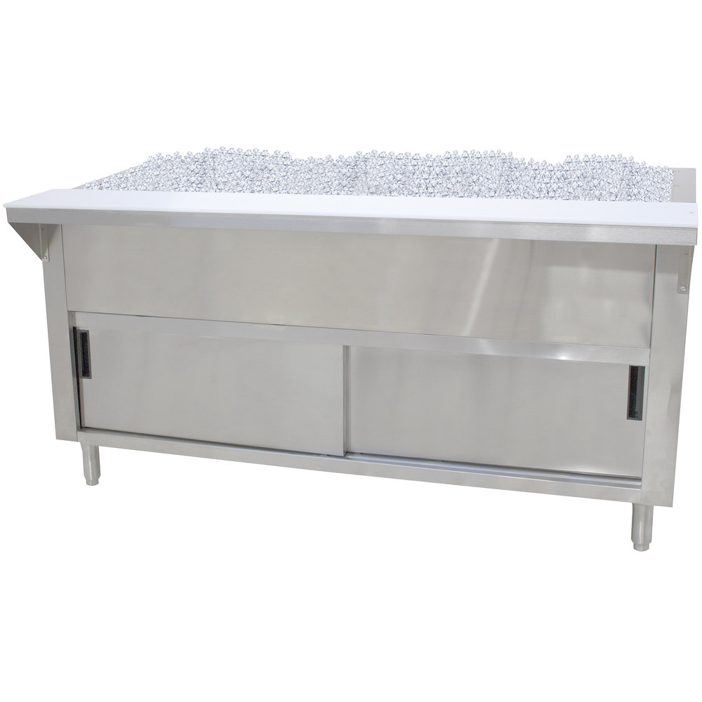 Advance Tabco CPU-3-DR Stainless Steel Ice-Cooled Table with ...