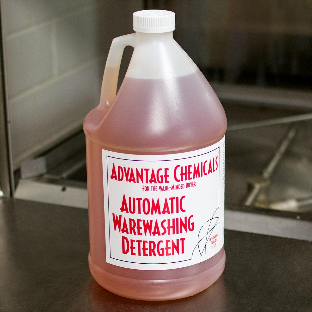 dish machine chemicals