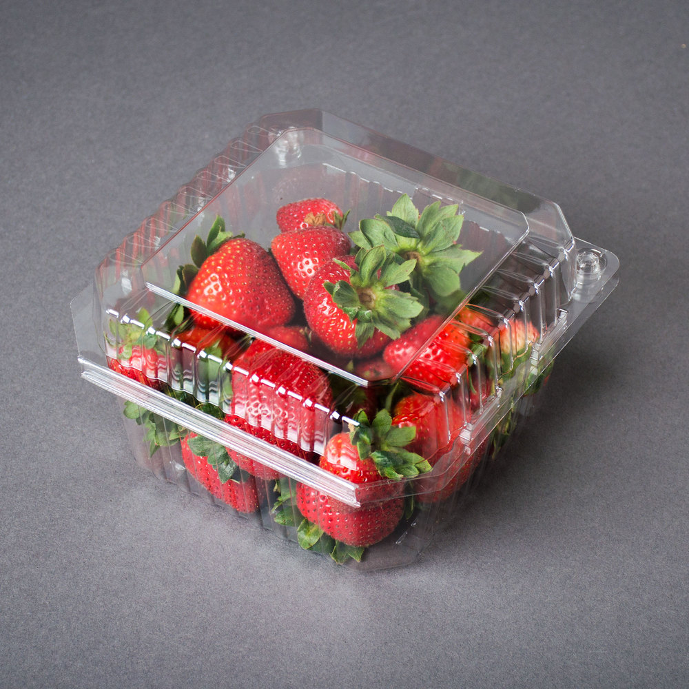 Clamshell Packaging For Produce Vented Clamshell Produce