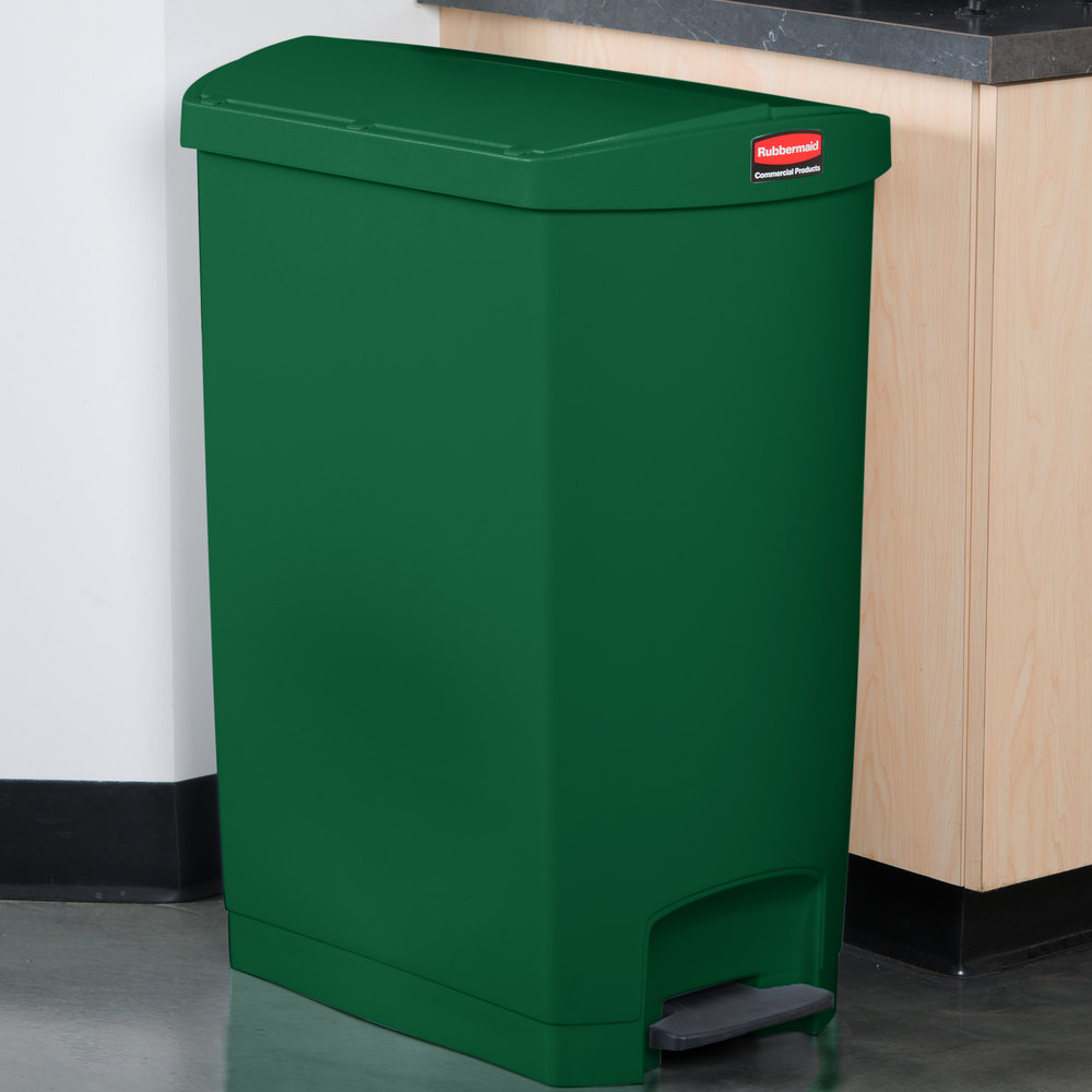 image preview - Slim Trash Can