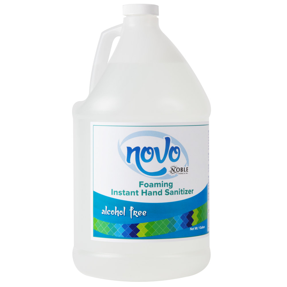 Noble Chemical Novo 1 Gallon Alcohol Free Foaming Instant