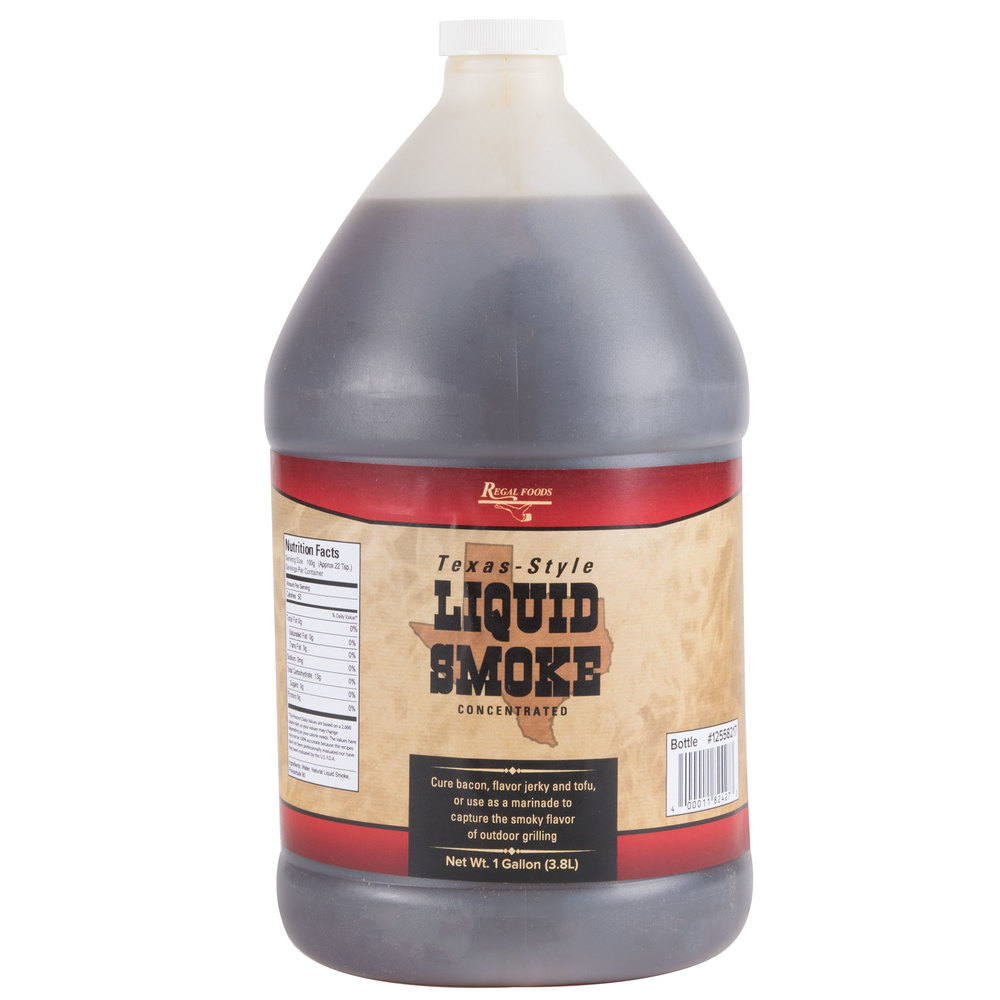 Gas Ranges >> Regal Foods 1 Gallon Liquid Smoke