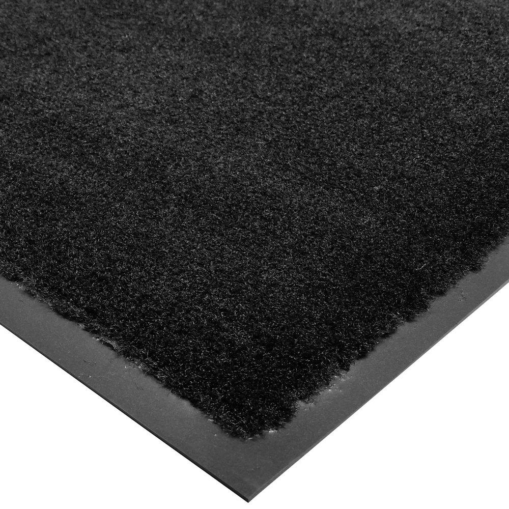 Cactus mat 1438m c46 tuf plush 4 x 6 olefin carpet entrance floor mat black