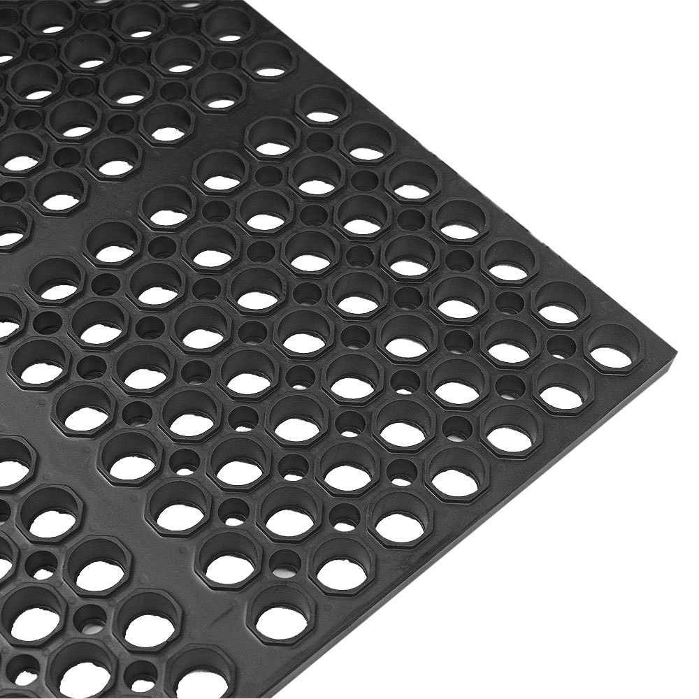 Kitchen Fatigue Floor Mat Mat 2521 C3 Vip Lite 29 X 39 Black Rubber Anti Fatigue Floor Mat