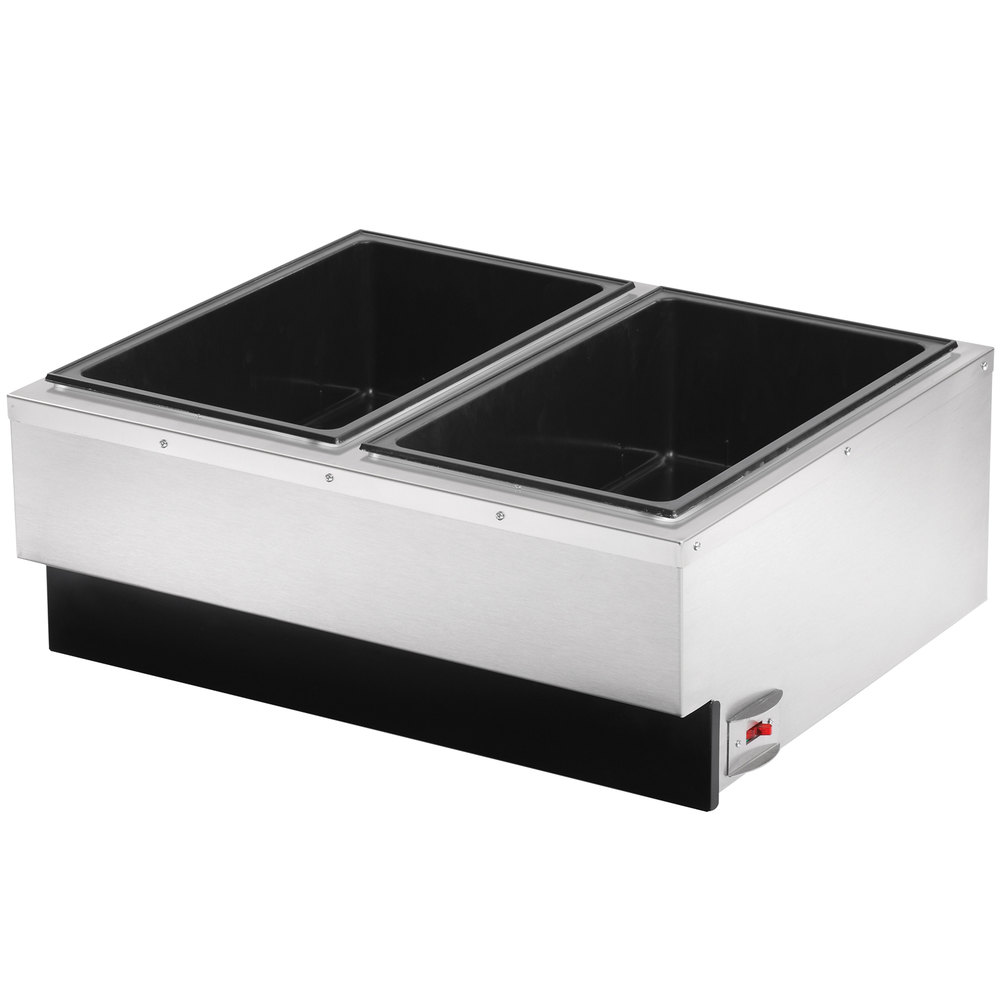 Large Food Warmer ~ Vollrath cayenne two pan countertop food warmer