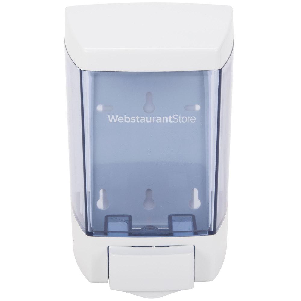 46 Oz White Bulk Soap Sanitizer And Lotion Dispenser