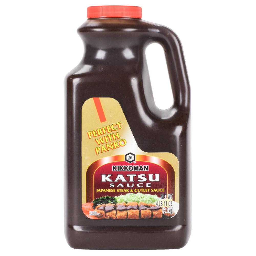Kikkoman Katsu Sauce 5 Lb Container