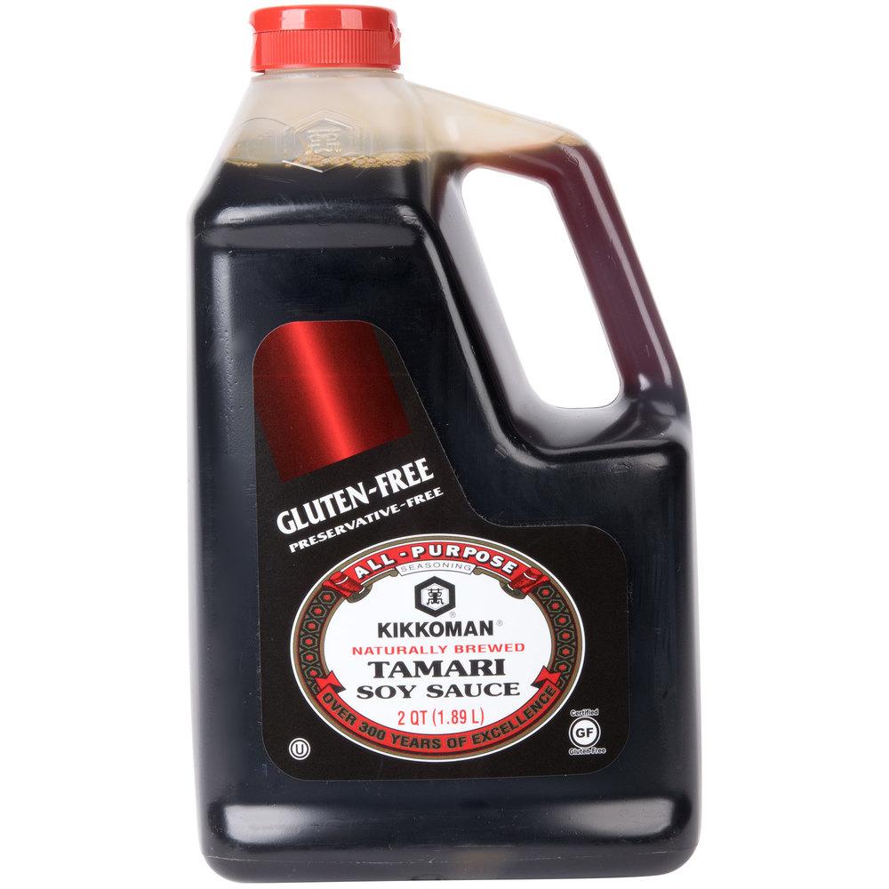 Kikkoman 5 Gallon Gluten Free Preservative Free Tamari