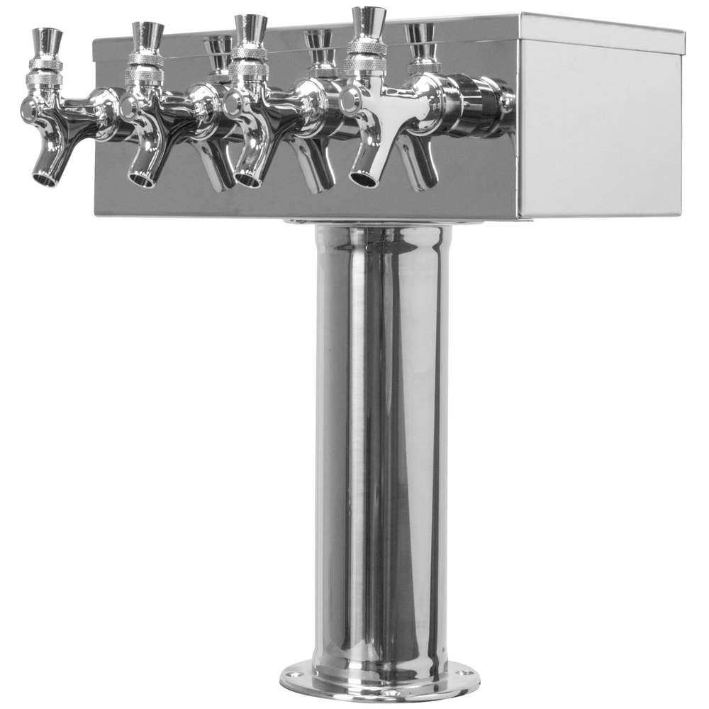 Stainless Steel Towers : Micro matic d pss stainless steel tap quot t style tower