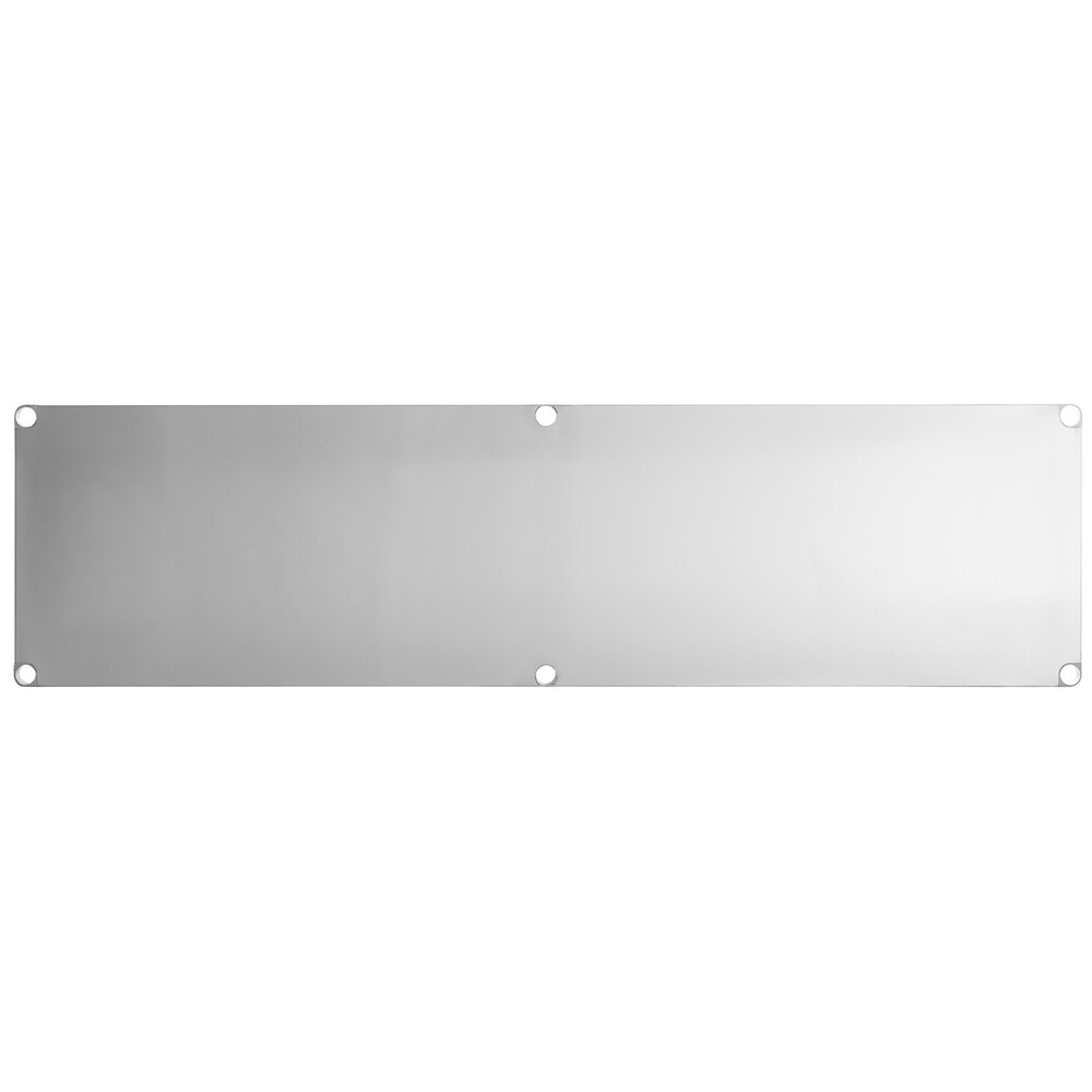 Regency Adjustable Stainless Steel Work Table Undershelf for 30 inch x 96 inch Tables - 18 Gauge