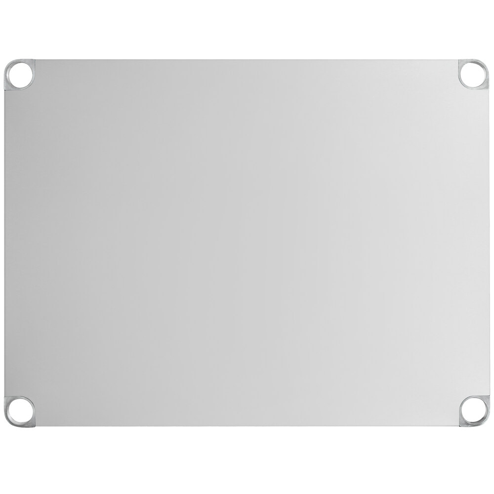 Regency Adjustable Stainless Steel Work Table Undershelf for 30 inch x 36 inch Tables - 18 Gauge