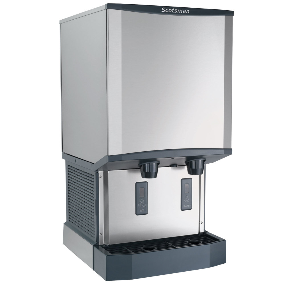 HID540W-1A Meridian Countertop Water Cooled Ice Machine and Water ...