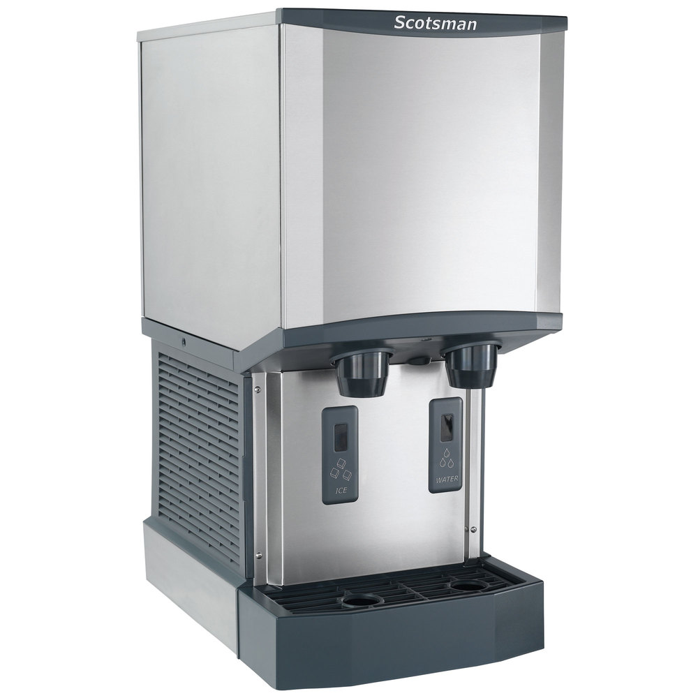Scotsman Countertop Ice Maker : Scotsman HID312A-1A Meridian Countertop Air Cooled Ice Machine and ...