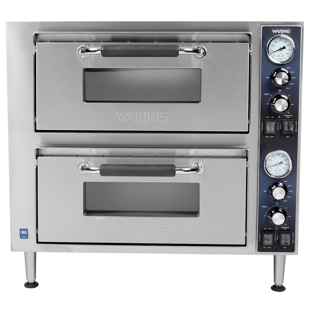 Single Deck Wpo500 Countertop Oven Waring Pizza overt