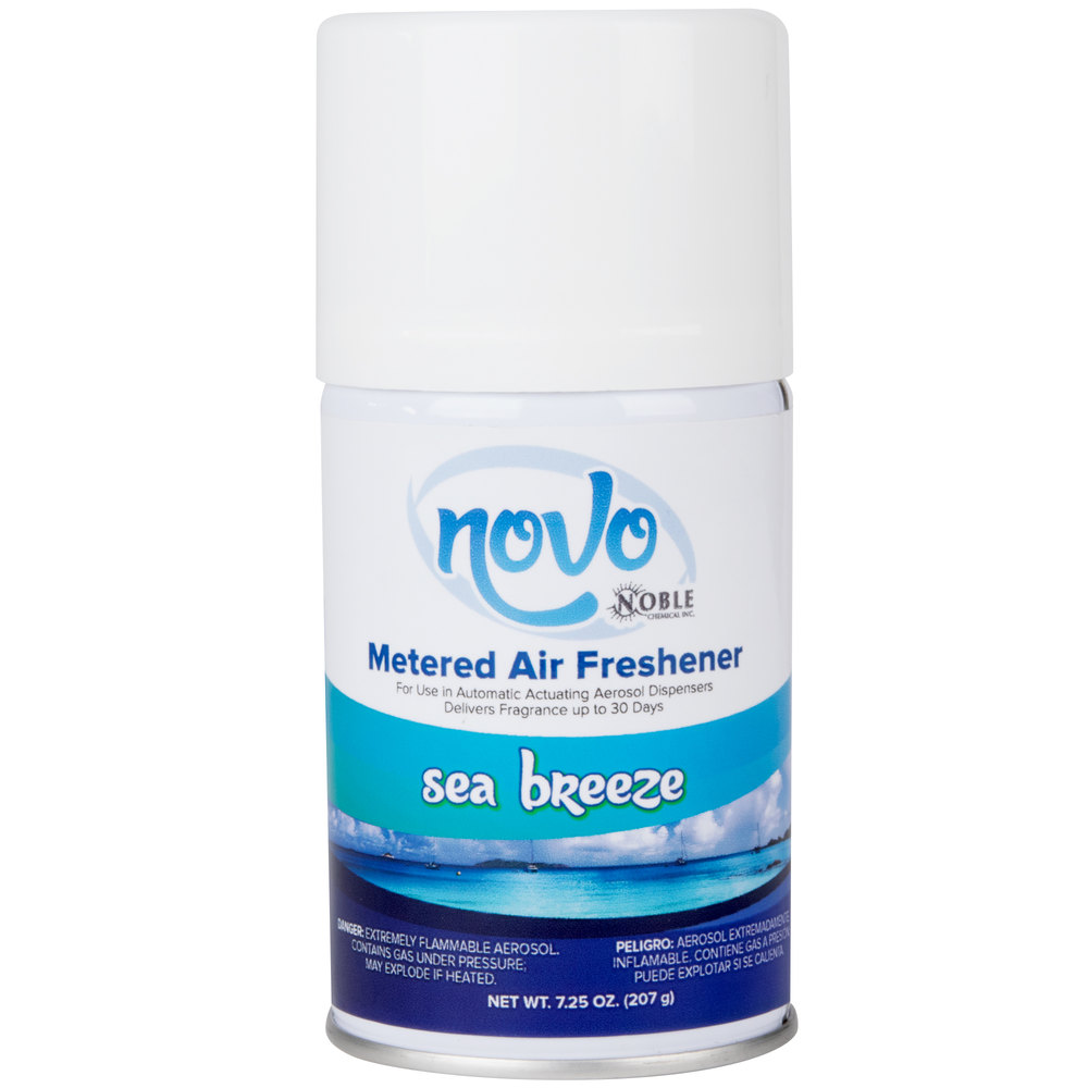 Noble chemical novo oz sea breeze scent metered air for Commercial bathroom air freshener