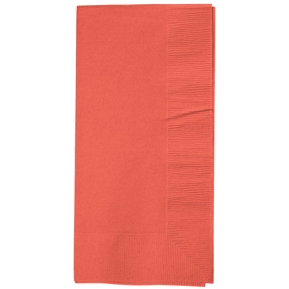 PAAs in colored paper napkins