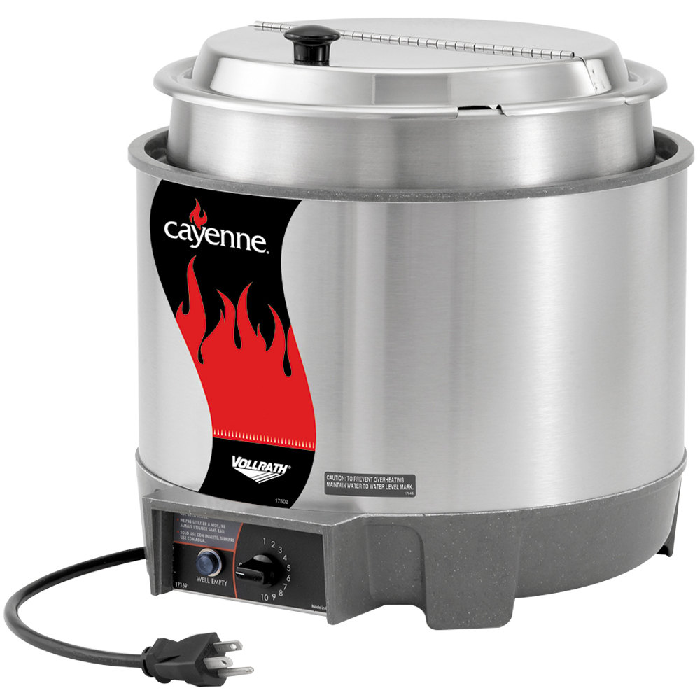 Vollrath Soup Warmers ~ Vollrath cayenne qt round quot heat n serve