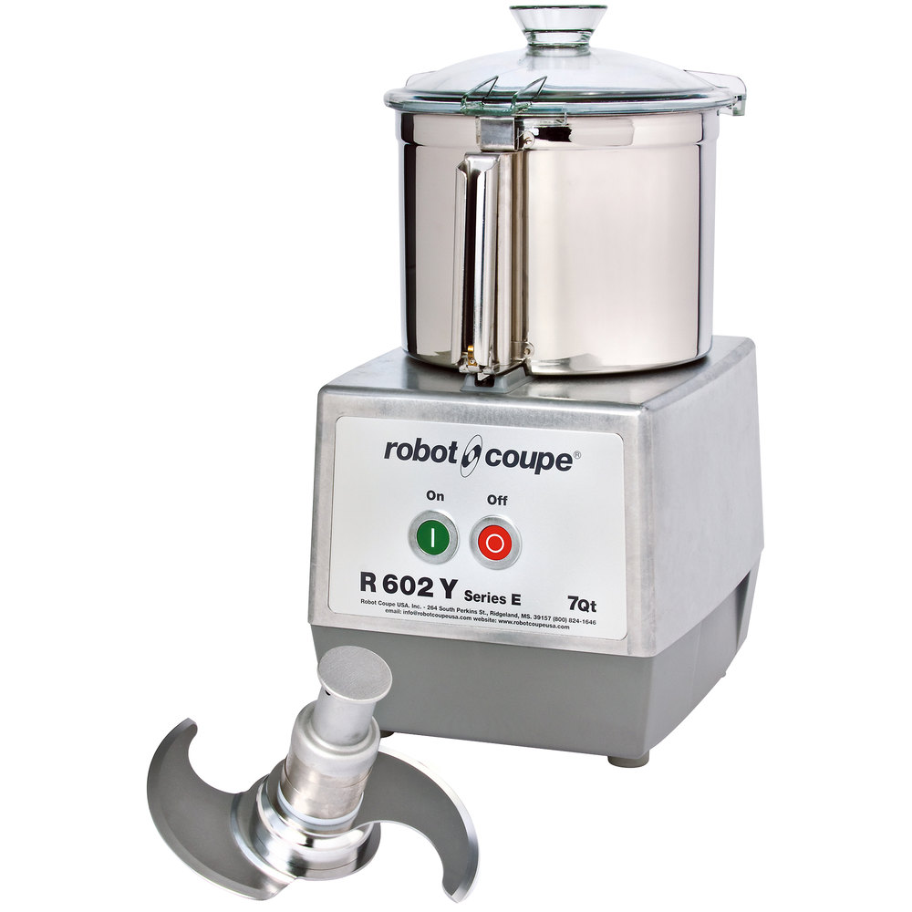 Commercial Food Processor ~ Robot coupe r y hp commercial food processor with qt
