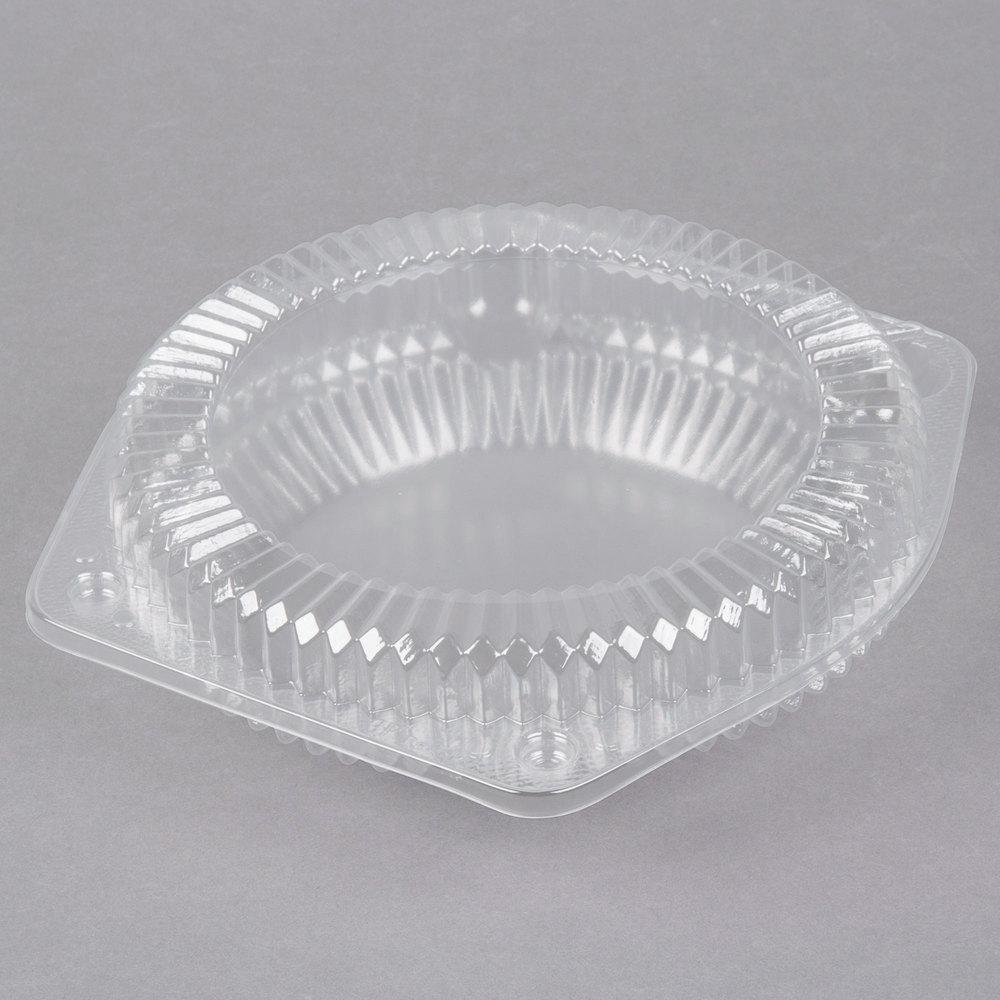 Polar Pak 03020 6 Quot Hinged Ops Plastic Shallow Pie