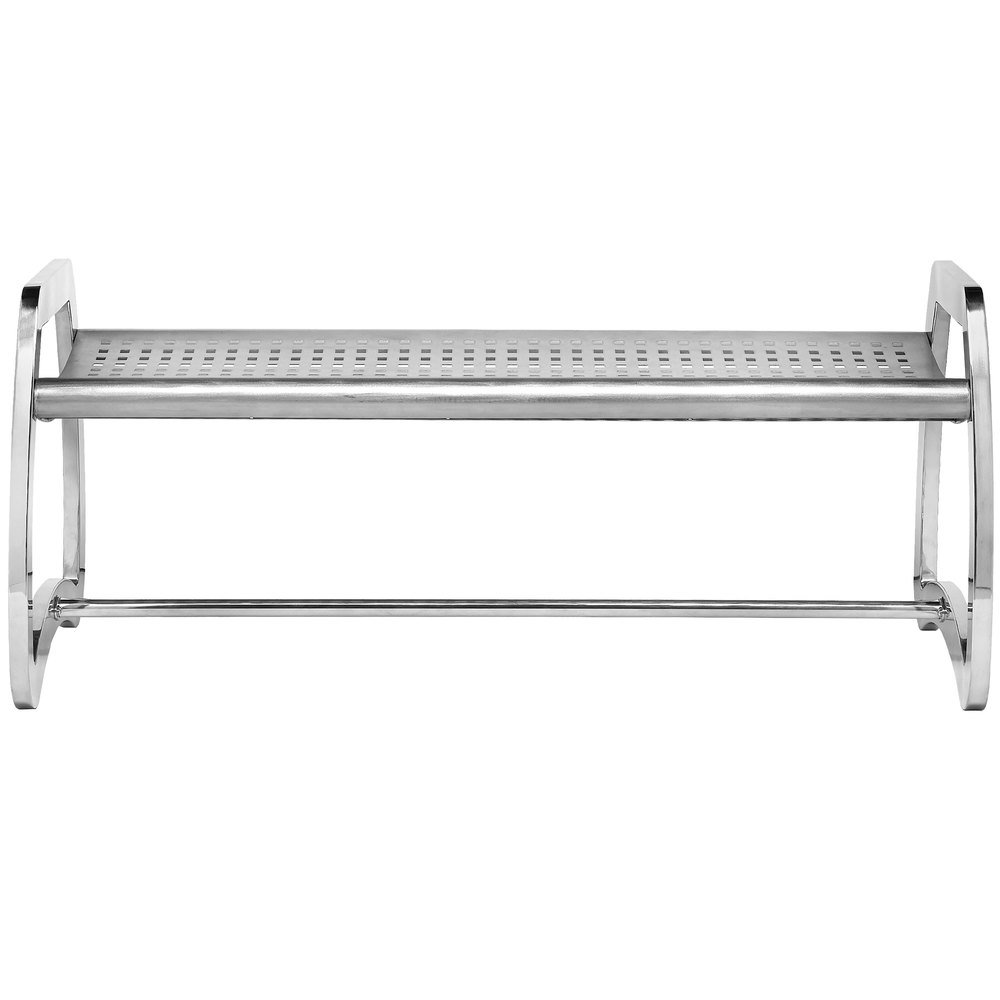 Commercial Zone 725229 Skyline Series 4 Stainless Steel