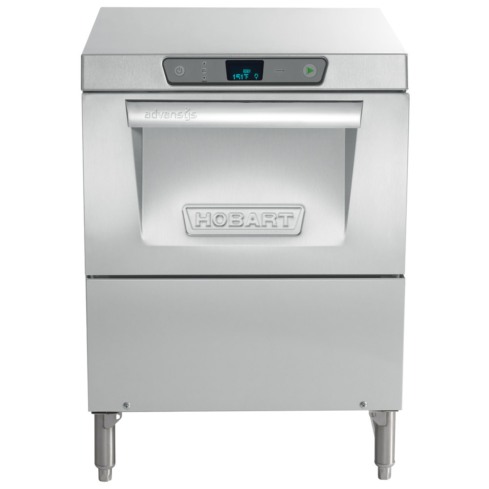 Hobart LXGeR2 Advansys Energy Recovery High Temperature Glass Washer ...
