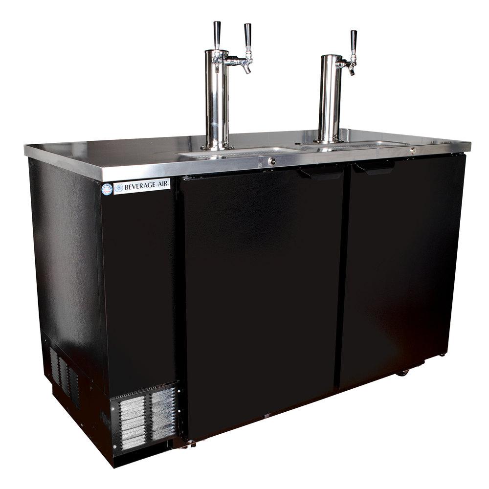 Beverage Air Dd58hc 1 B 016 2 Double Tap Kegerator Beer