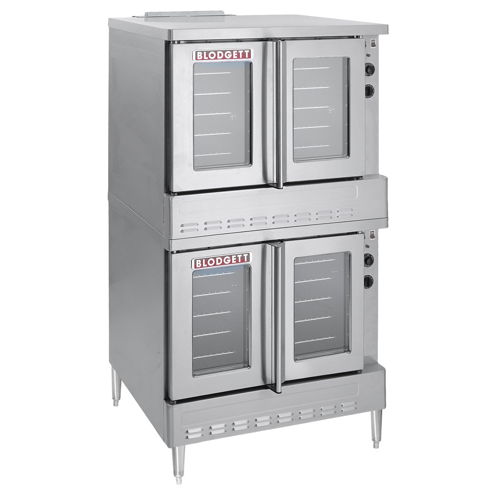 Blodgett SHO-100-E Double Deck Full Size Electric Convection Oven ...