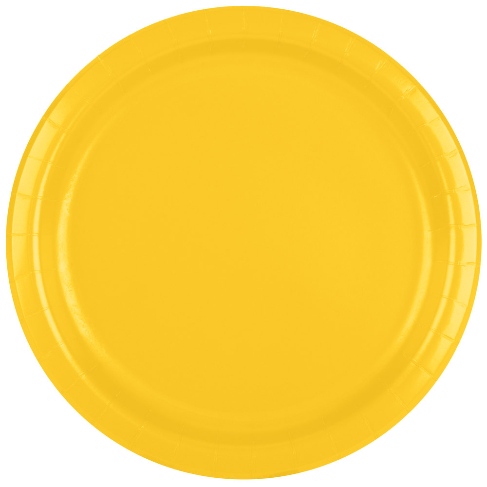 yellow paper plates Keep the party simple with our plain colour plates from paper to plastic, and even divided plates you'll be bound to complete your buffet look in a flash keep the party simple with our plain colour plates from paper to plastic, and even divided plates you'll be bound to complete your buffet look in a flash  yellow paper plate – 9.