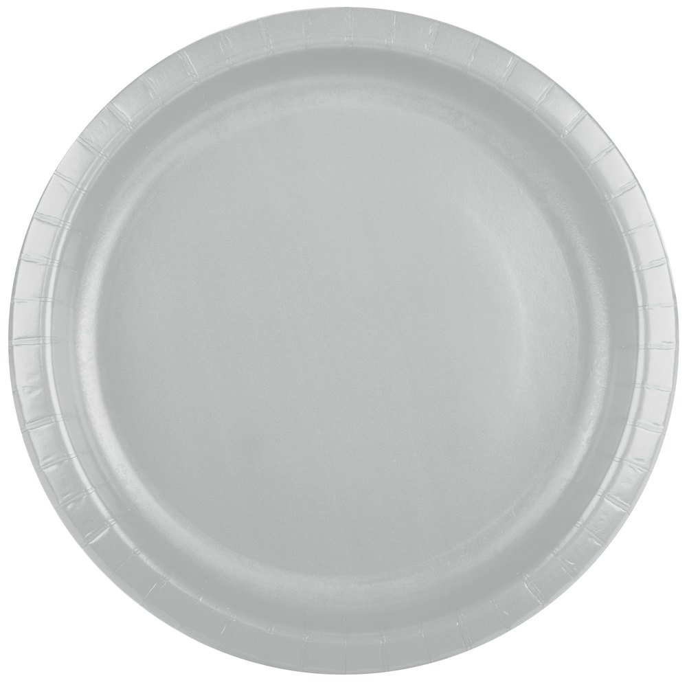 silver paper plates Two hearts paper dessert plates in-3/1783 $849 25 piece(s) rating 49 out of  5 metallic silver round paper dinner plates in-70/1433 $499 24 piece(s.