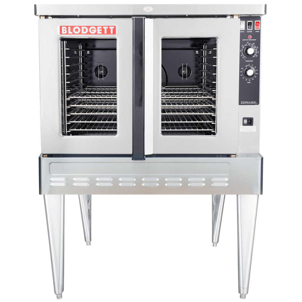 Gas Convection Oven ~ Natural gas blodgett zephaire g single deck full size
